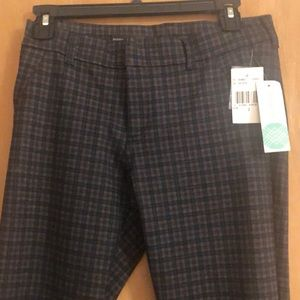 NWT Kut from the Cloth Skinny Pants In Gray/Wine